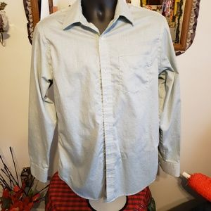 Banana Republic Button Down LS Shirt sz M F-17